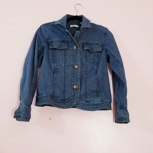 Coldwater Creek Denim Jacket Size P6